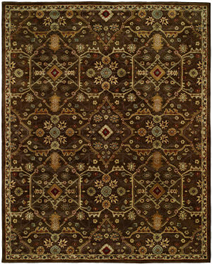 Kalaty Empire Em-295 Chocolate Area Rug