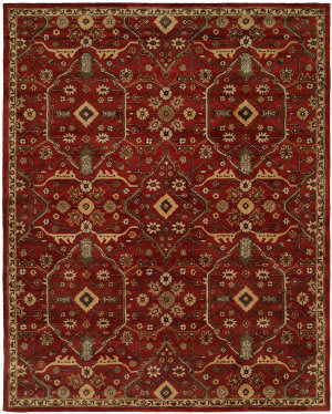 Kalaty Empire Em-296 Rich Russet Area Rug