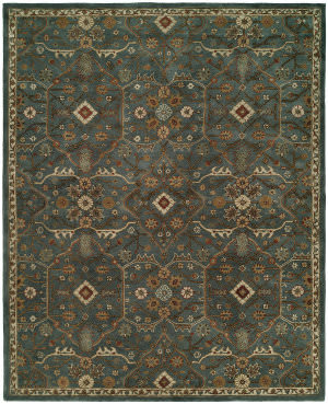 Kalaty Empire Em-297 Storm Blue Area Rug