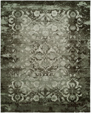 Famous Maker Vista 100430 Vintage Smoke Area Rug