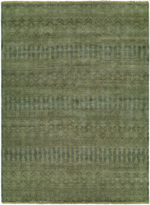 Famous Maker Miran 100488 Teal Blue Area Rug