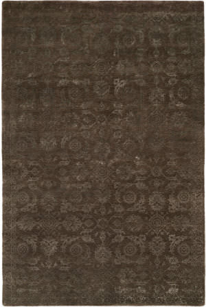 Kalaty Nirvana Nr-931 Smokey Brown Area Rug