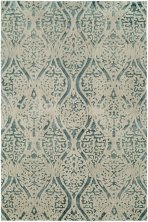 Famous Maker Shaza 100553 Distressed Geo Area Rug