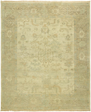 Famous Maker Oushak 100466 Vintage Natural Area Rug