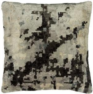 Kalaty Bespoke Pillow Pb-071 White - Ebony