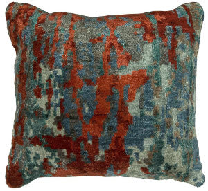 Kalaty Bespoke Pillow Pb-078 Multi Blue - Scarlet