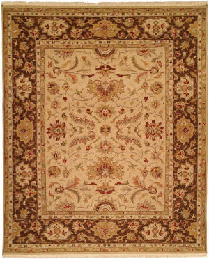 Kalaty Soumak Su-192 Gold - Brown Area Rug