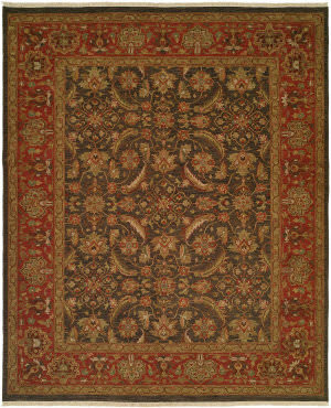 Kalaty Soumak Su-204 Blue - Rose Area Rug