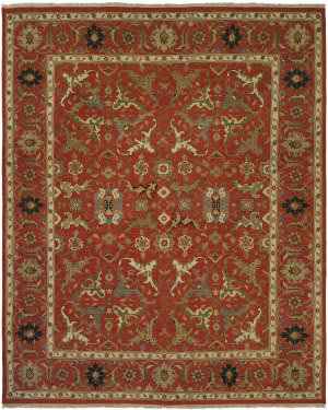 Famous Maker Soumak 100267 Red Area Rug