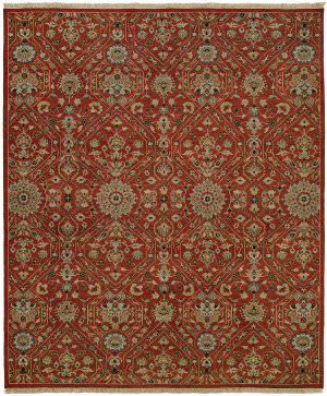 Famous Maker Soumak 100477 Clay Area Rug