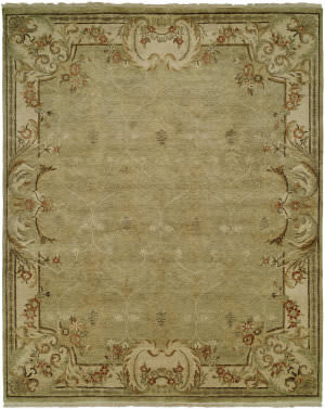 Kalaty Tuscany Tc-604 Green Area Rug