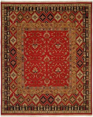 Kalaty Soumak Su-201 Red Area Rug