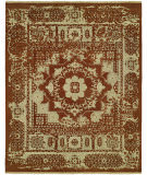 Famous Maker Cassia 100831 Rust Area Rug