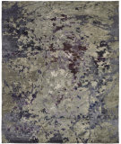 Famous Maker Onyx 100581 Plum - Grey Area Rug