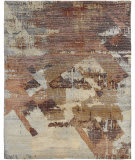 Famous Maker Elated 100372 Rust Tones Area Rug