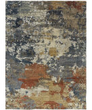 Famous Maker Harmony 100953 Denim / Multi Area Rug