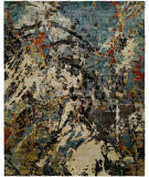 Famous Maker Jupiter 100072 Multi Beige - Blue Area Rug