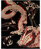 Famous Maker Dynamic 100315 Black Dragon Area Rug
