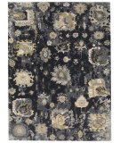 Famous Maker Obelia 100095 Almost Black Area Rug