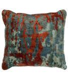 Kalaty Bespoke Pillow Pb-078 Multi Blue - Scarlet