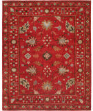 Famous Maker Sunil 100325 Red Area Rug