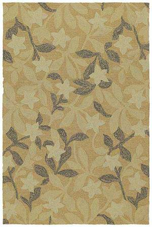 Kaleen Home and Porch Star Fish Natural 2002-44 Area Rug