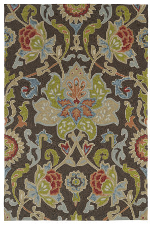 Kaleen Home And Porch 2042-40 Chocolate Area Rug