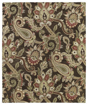 Kaleen Helena 3204-40 Chocolate Area Rug