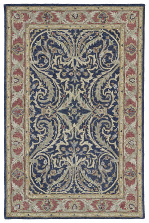 Kaleen Solomon 4050-17 Blue Area Rug
