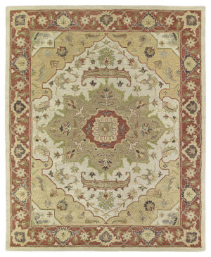 Kaleen Solomon 4054-05 Gold Area Rug