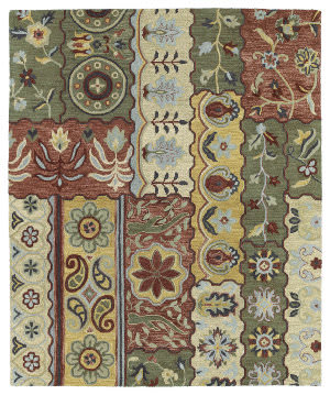 Kaleen Brooklyn 5300-05 Gold Area Rug