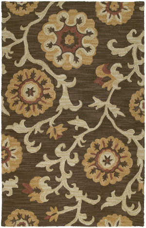 Kaleen Carriage Cornish Brown 49 Area Rug