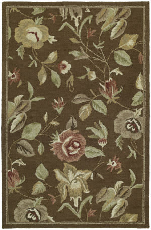 Kaleen Khazana Savannah 6557 Chocolate Area Rug