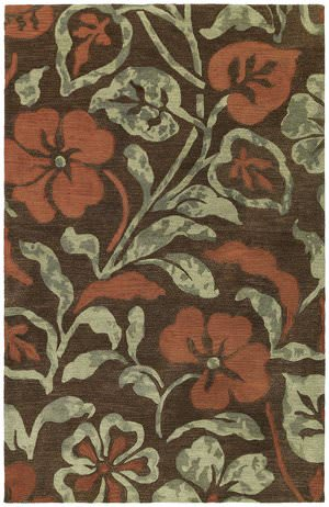 Kaleen Calais Lily in the Valley Brown 7512-49 Area Rug