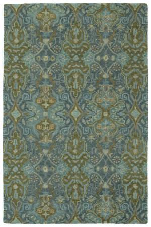 Kaleen Amaranta Ama06-94 Peacock Area Rug