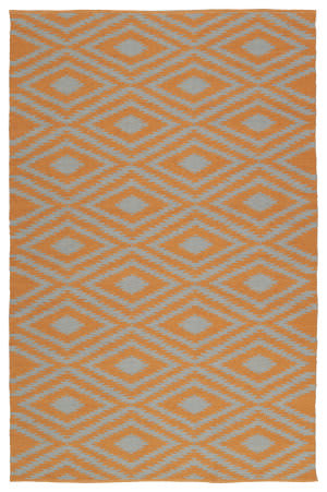 Kaleen Brisa Bri02-89a Orange Area Rug