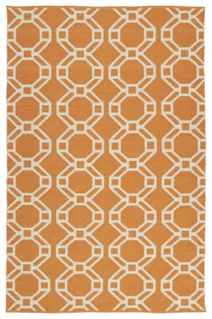 Kaleen Brisa Bri05-89a Orange Area Rug