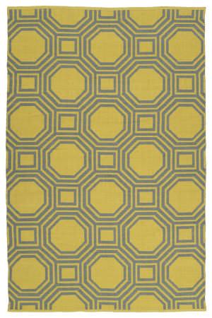 Kaleen Brisa Bri06-28b Yellow Area Rug