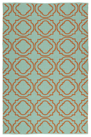 Kaleen Brisa Bri07-89b Orange Area Rug