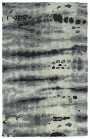 Kaleen Brushstrokes Brs03-75 Grey Area Rug