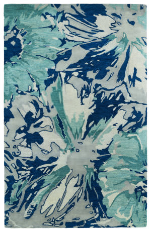 Rugstudio Sample Sale 112773R Blue Area Rug
