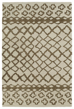 Kaleen Casablanca Cas01-49 Brown Area Rug