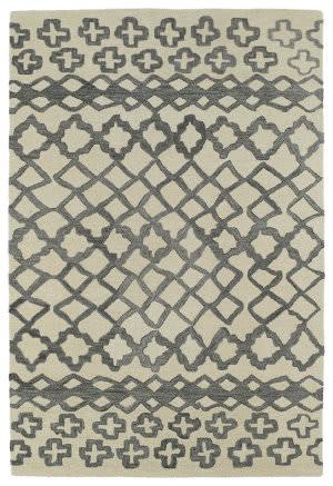 Kaleen Casablanca Cas01-75 Grey Area Rug