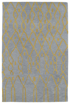 Kaleen Casablanca Cas06-79 Light Blue Area Rug