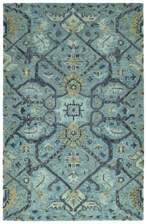 Kaleen Chancellor Cha04-17 Blue Area Rug