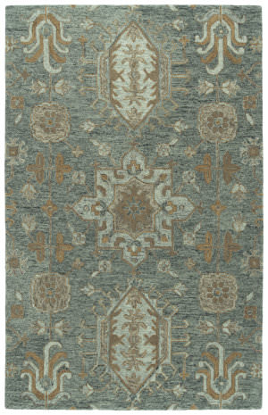 Kaleen Chancellor Cha07-102 Pewter Green Area Rug