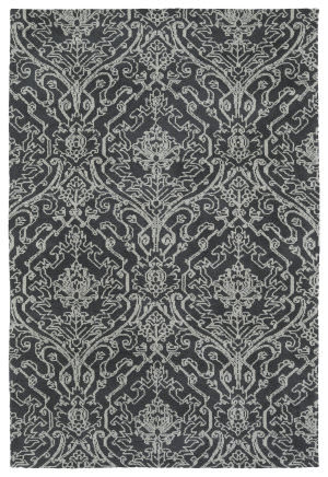 Kaleen Cozy Toes Ctc06-38 Charcoal Area Rug