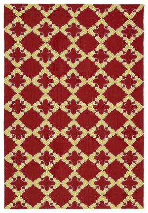Kaleen Escape Esc01-25 Red Area Rug