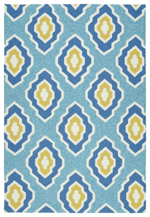 Kaleen Escape Esc02-17 Blue Area Rug