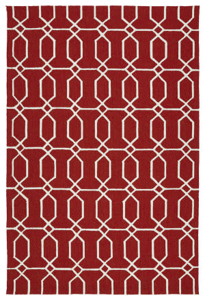 Kaleen Escape Esc10-25 Red Area Rug